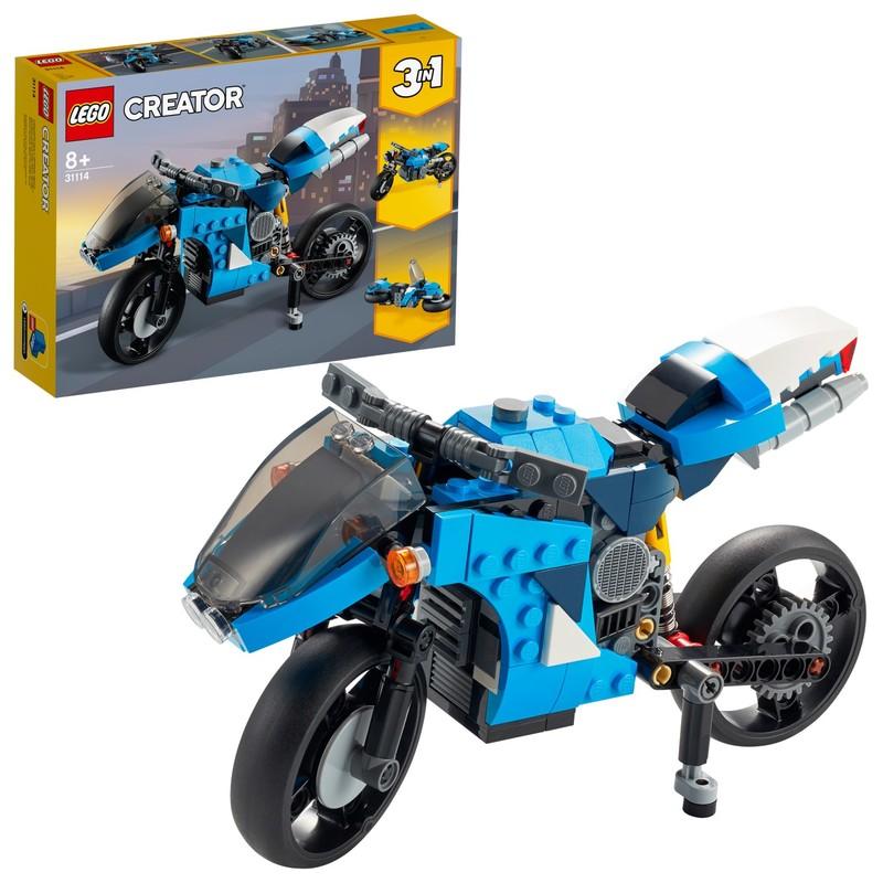 LEGO - Supermotorka