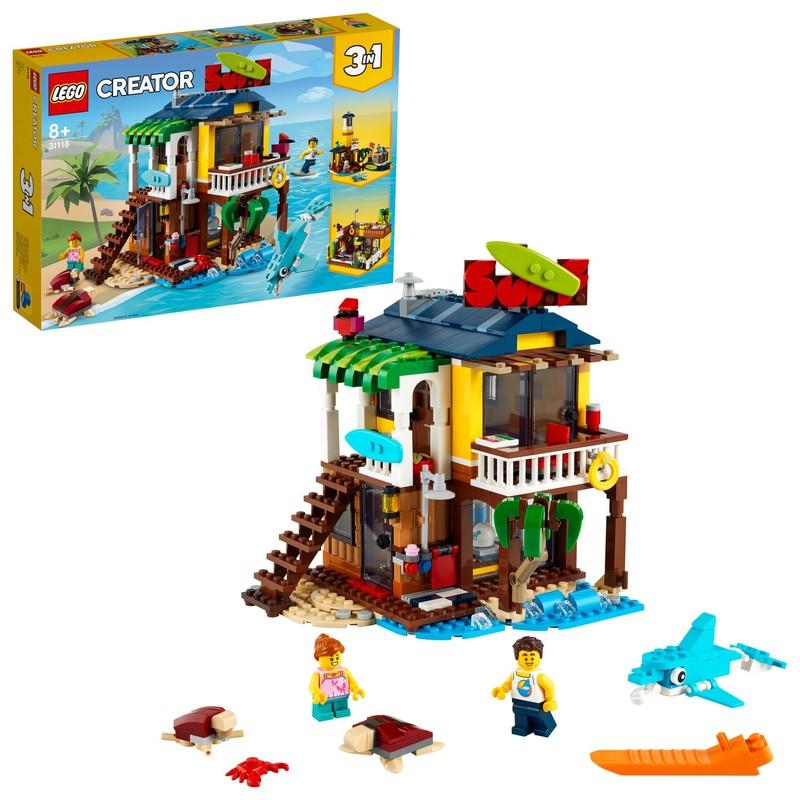 LEGO - Surfařský dům na pláži