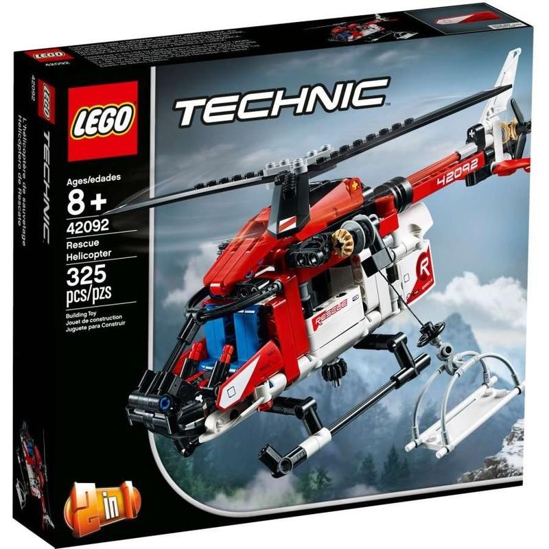 LEGO - Technic 42092 Záchranářská helikoptéra
