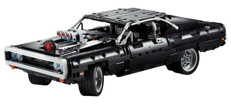 LEGO - Technic 43111 Domů Dodge Charger