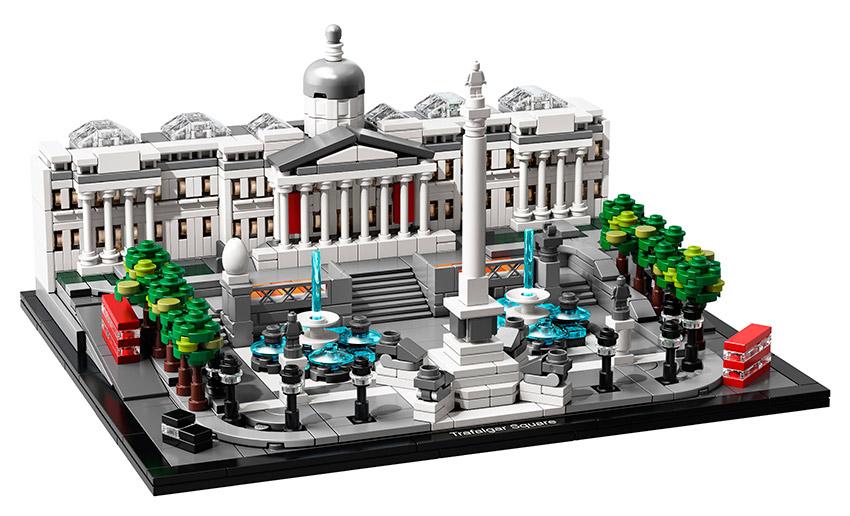 Fotografie LEGO - Trafalgarské Náměstí Lego