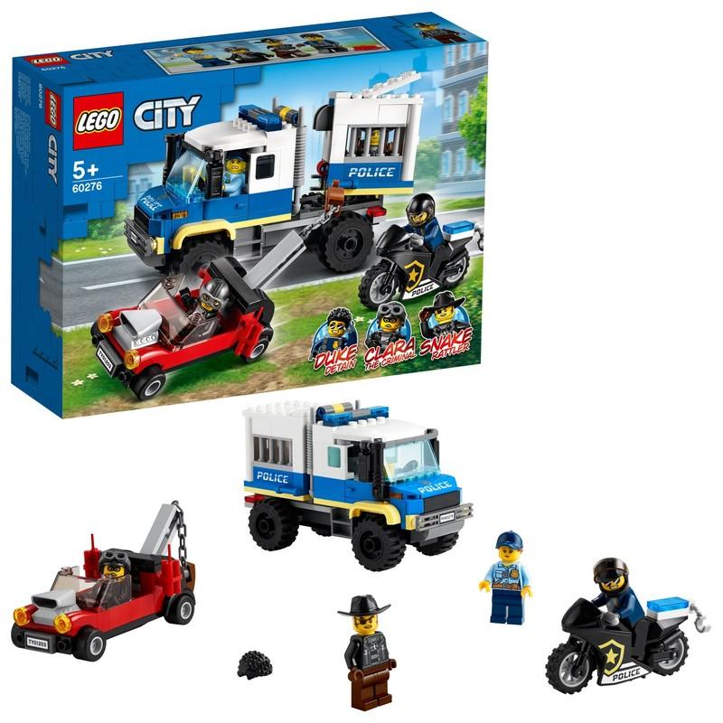 LEGO - Vězeňský transport