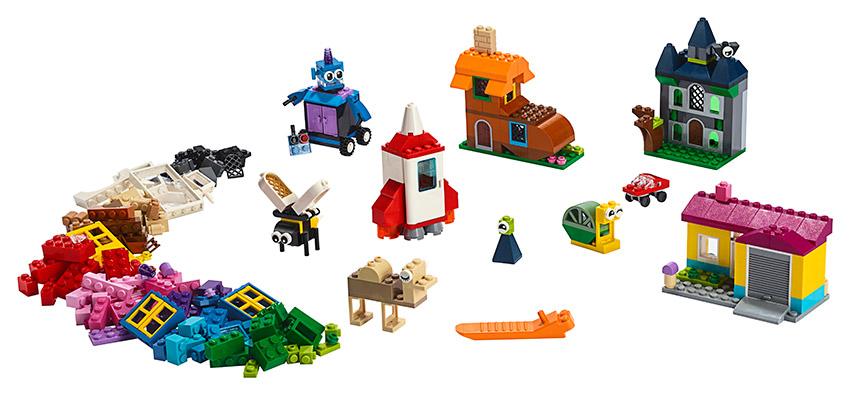 LEGO - Kreativní Okénka