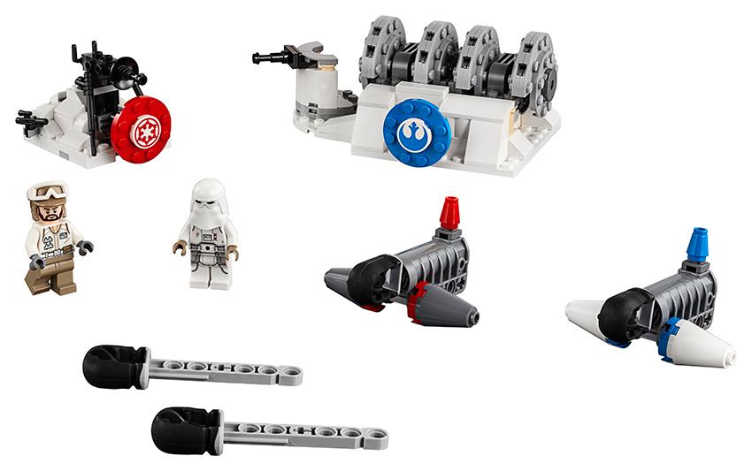 LEGO - útok na štítový generátor na planetě Hoth™
