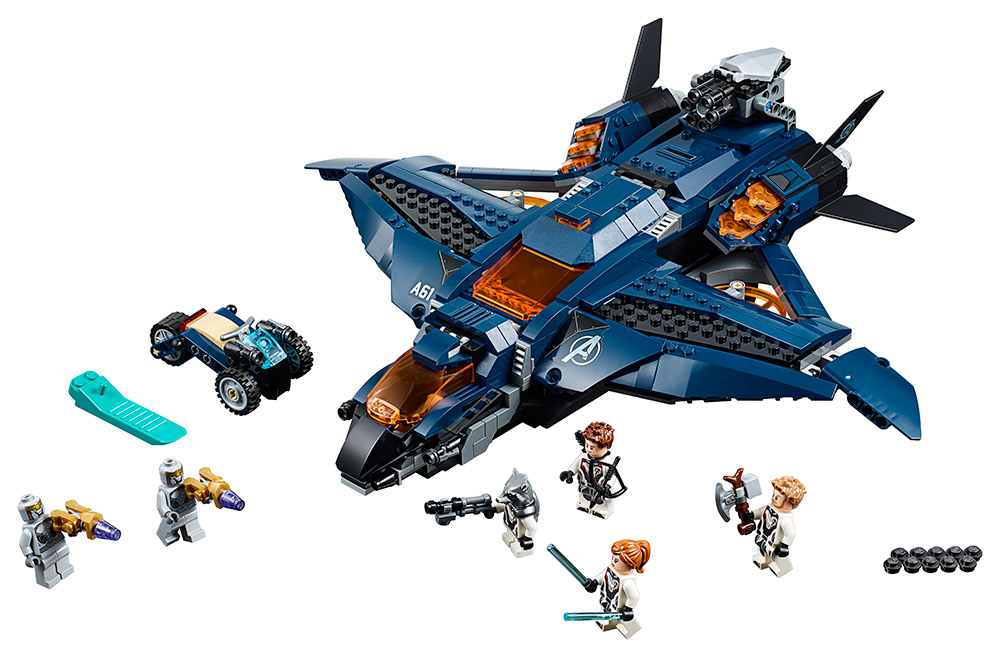 LEGO - parádní tryskáč Avengerů