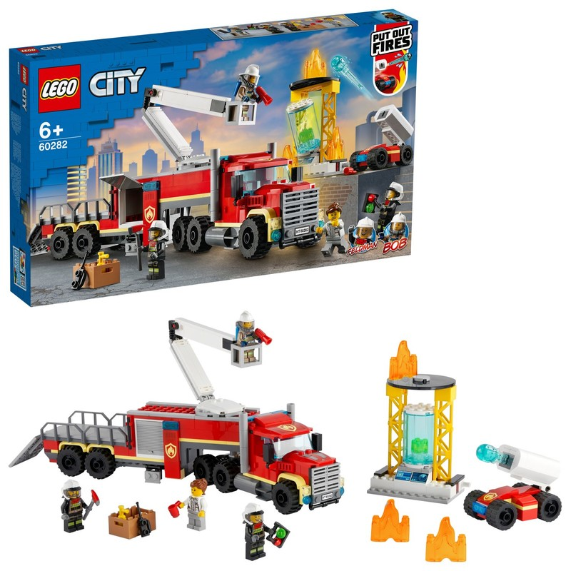 LEGO - Velitelská jednotka hasičů