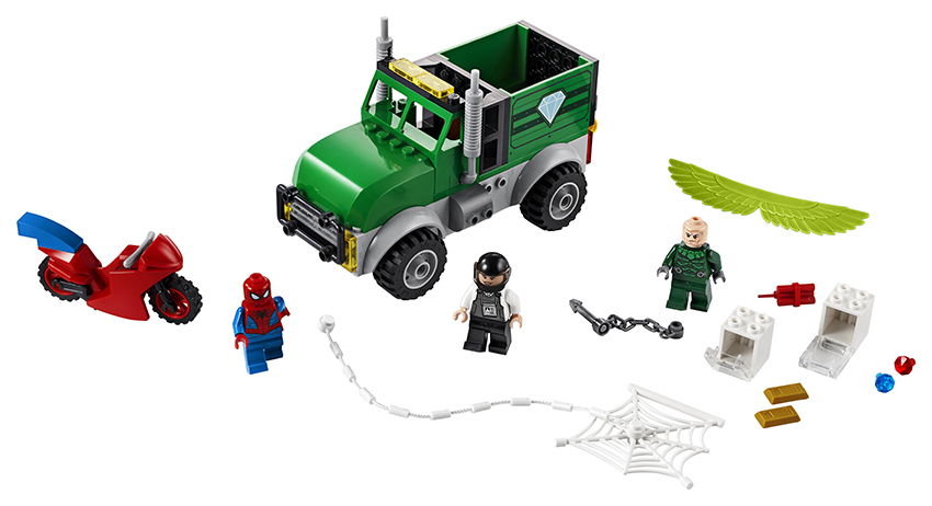 LEGO - Vulture A Přepadení Kamionu