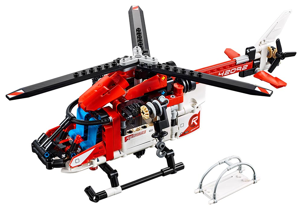 LEGO - Záchranářský Vrtulník