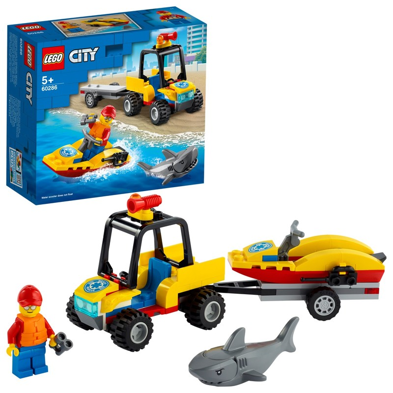 LEGO - Záchranná plážová čtyřkolka