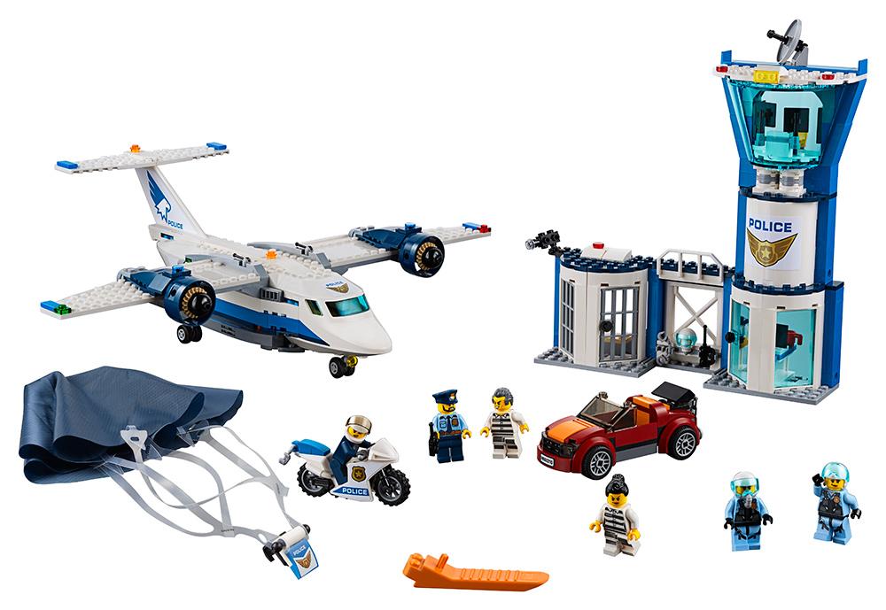LEGO - Základna Letecké Policie