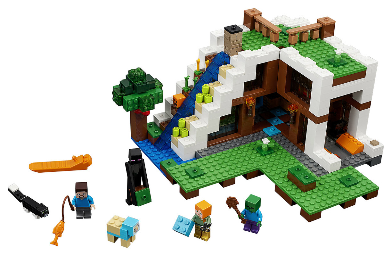 LEGO - Základna Ve Vodopádu