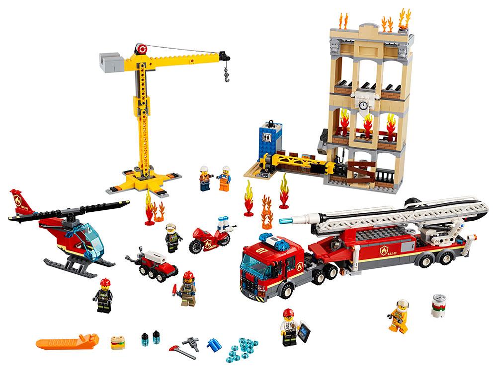 LEGO - Hasiči V Centru Města