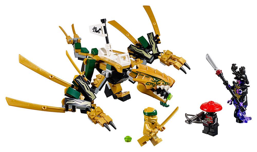 LEGO - Zlatý Drak