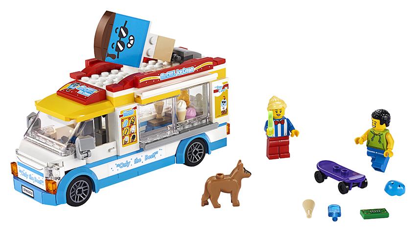 LEGO - Zmrzlinářské Auto