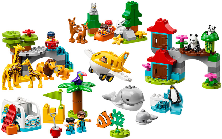 Fotografie LEGO - Zvířatka Světa Lego