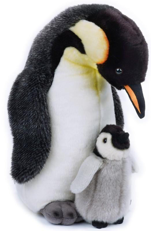 LELLY - National Geografic Polární zvířátka 770821 Tučňák s mláďátkem - 35 cm