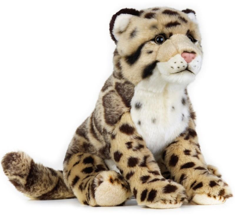 LELLY - National Geografic Velké kočkovité šelmy 770741 Leopard obláčkový - 25 cm