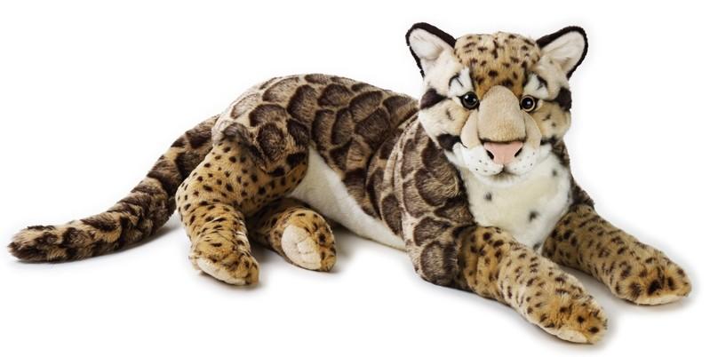 LELLY - National Geografic Velké kočkovité šelmy 770742 Leopard obláčkový - 65 cm