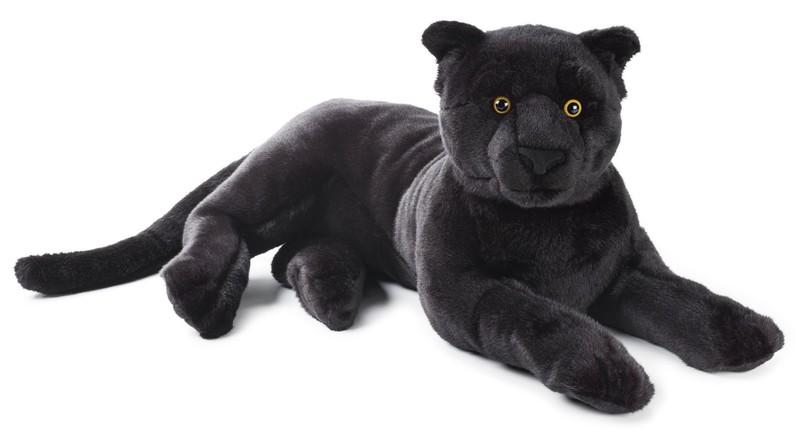 LELLY - National Geografic Velké kočkovité šelmy 770744 Černý panter - 65 cm