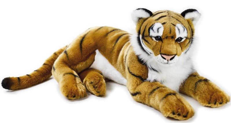 LELLY - National Geografic Velké kočkovité šelmy 770746 Tiger - 65 cm