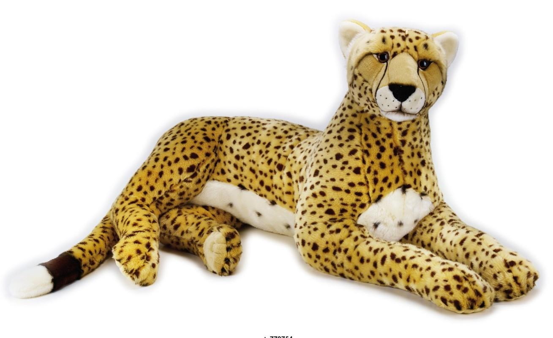 LELLY - National Geografic Velké kočkovité šelmy 770754 Gepard - 105 cm