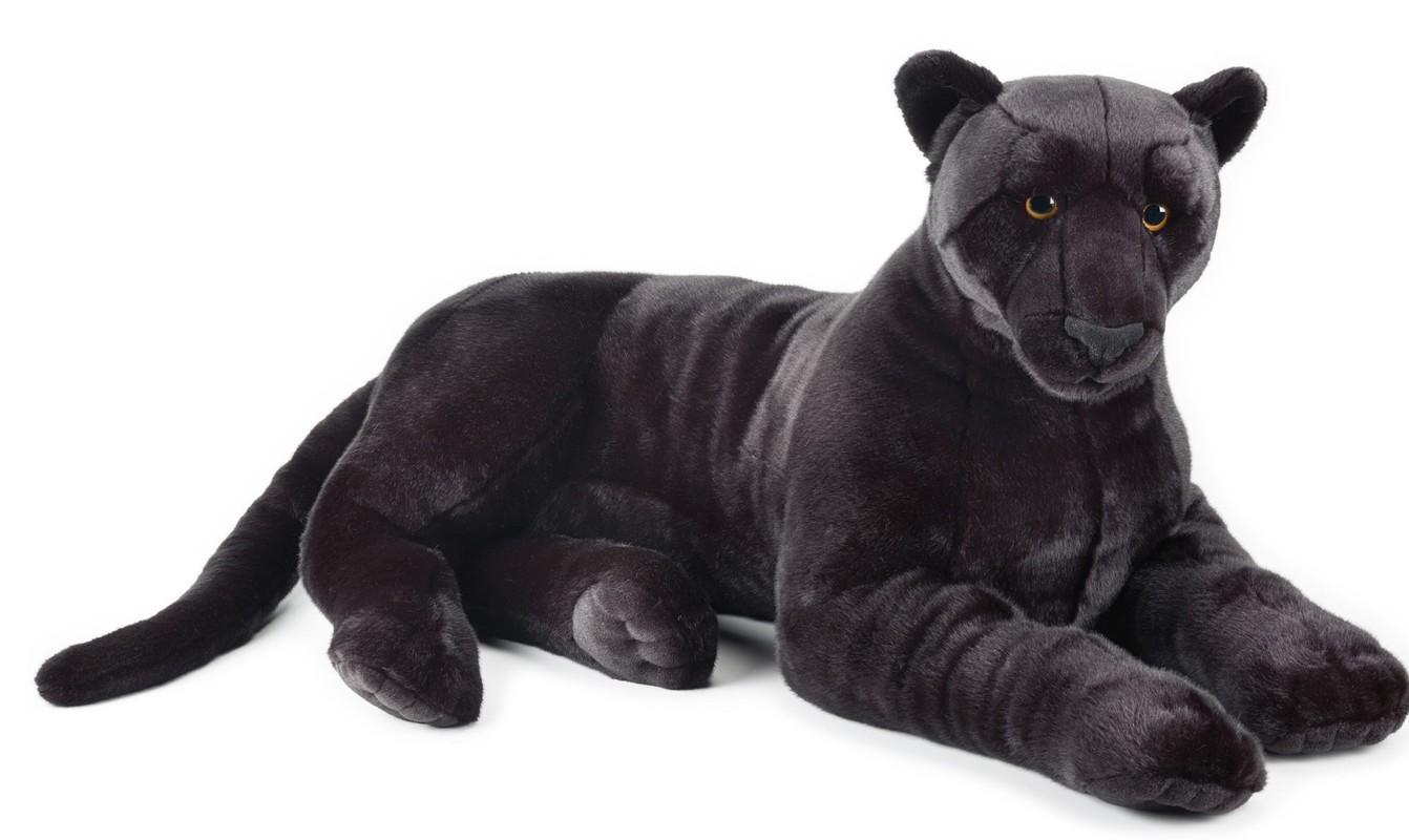 LELLY - National Geografic Velké kočkovité šelmy 770756 Černý panter - 105 cm