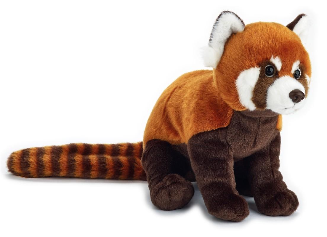 LELLY - National Geografic Základní kolekce zvířátek 770838 Panda červená - 24 cm