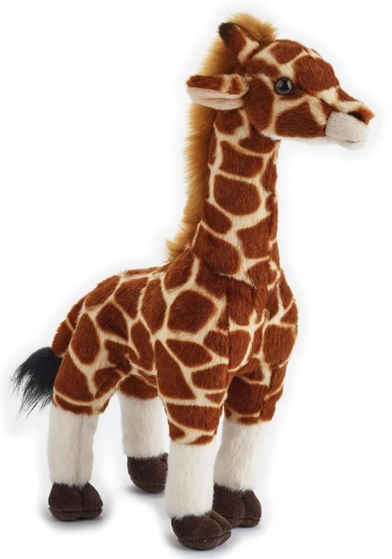 LELLY - National Geografic Základní kolekce zvířátek 770840 Žirafa - 30 cm