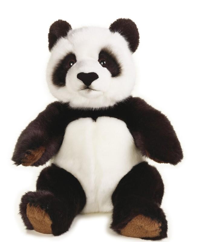 LELLY - National Geografic Základní kolekce zvířátek 770846 Panda velká - 22 cm