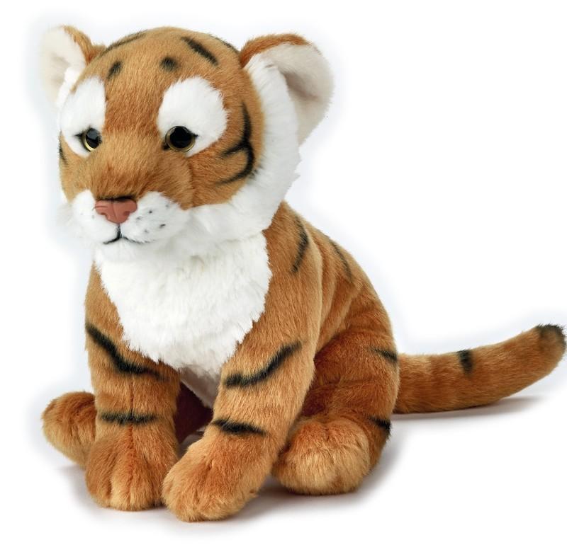 LELLY - National Geografic Základní kolekce zvířátek 770848 Tiger - 24 cm