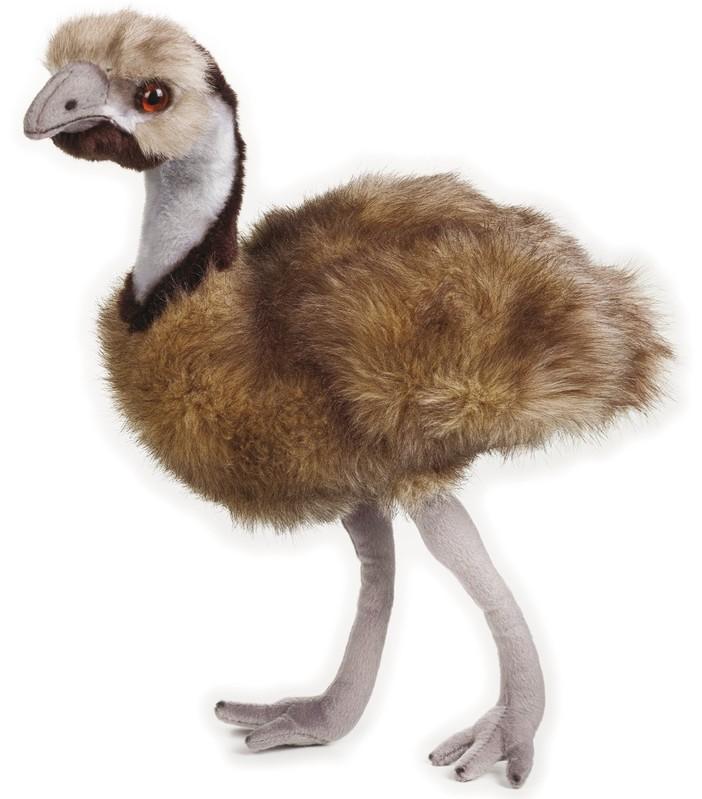 LELLY - National Geografic Zvířátka z Austrálie 770769 Emu hnědý - 44 cm