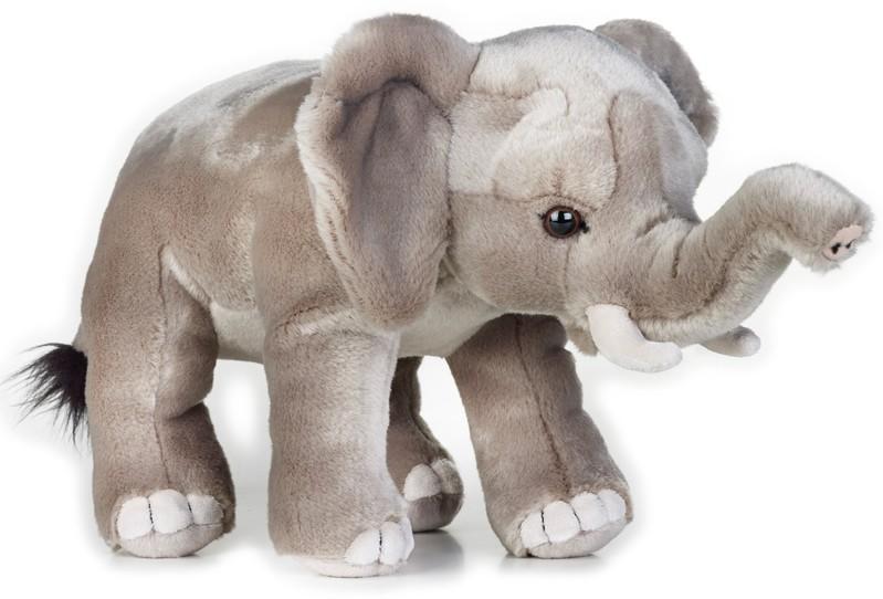 LELLY - National Geografic Zvířátka ze savany 770717 Slon Africký - 25 cm