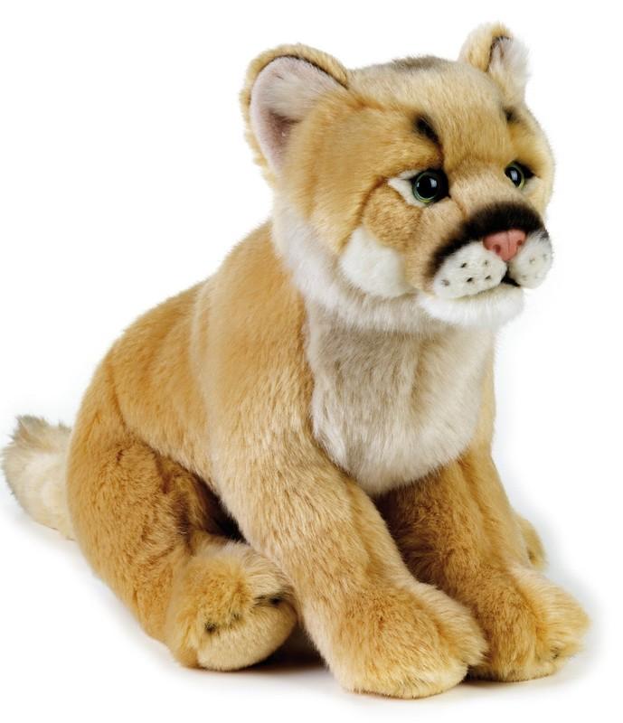 LELLY - National Geografic Zvířátka ze Severní Ameriky 770736 Puma Americká - 25 cm