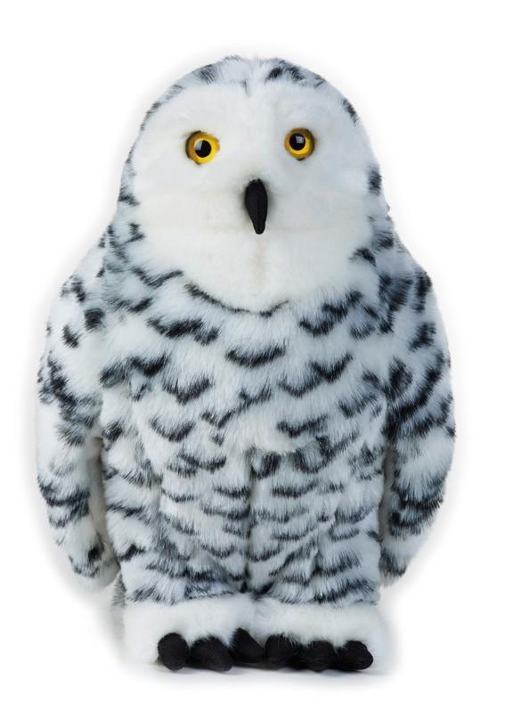 LELLY - National Geografic Zvířátka ze Severní Ameriky 770739 Sova sněžná - 27 cm