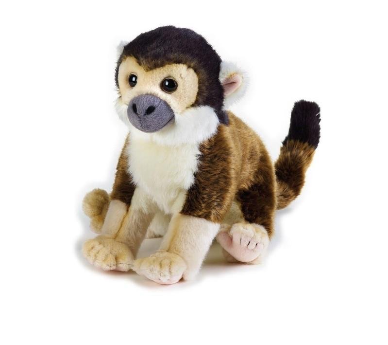 LELLY - National Geographic Zvířátka z deštného pralesa 770711 Saimiri vevericovitý - 25 cm