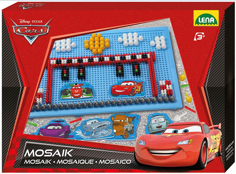 LENA - Dětská mozaika Cars 35568