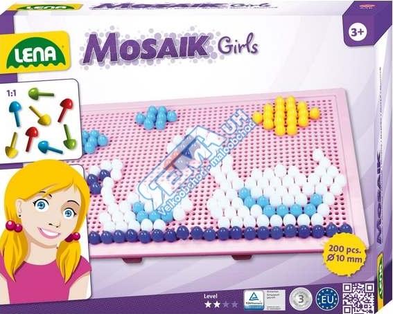 LENA - Dětská mozaika velká pro dívky 35611