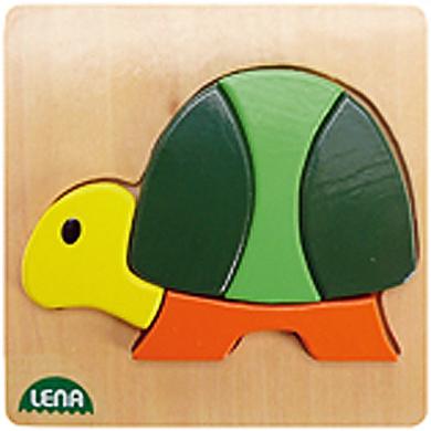 LENA - Dřevěné puzzle Želva 32063