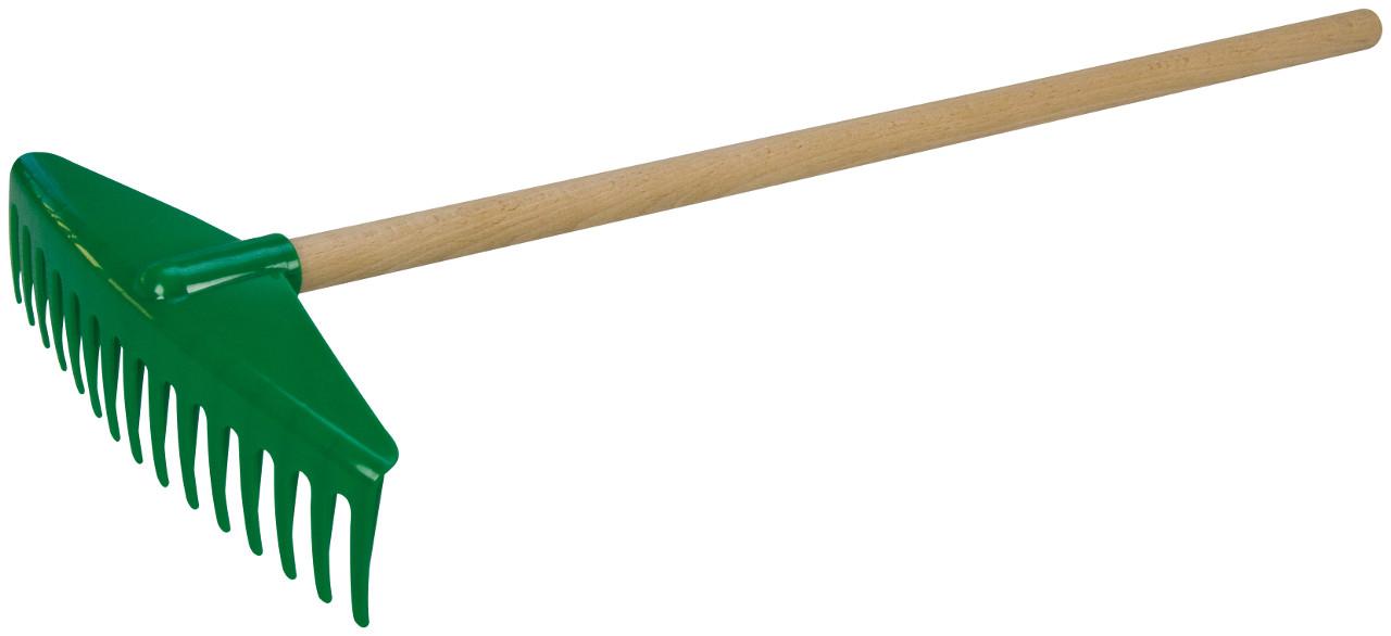 LENA - Hrábě 60 Cm S Dřevěnou Rukojetí LENA