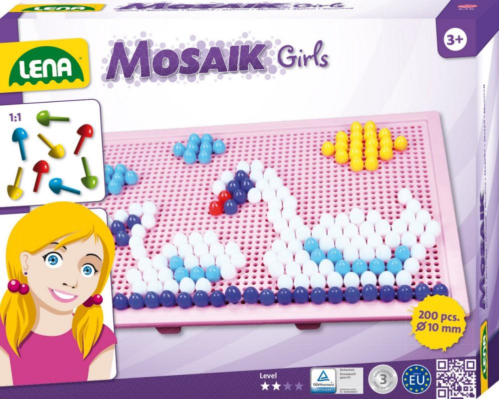 LENA - Mozaika Velká Pro dívky