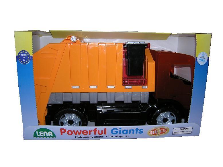 LENA - popelářské auto, 2 osé