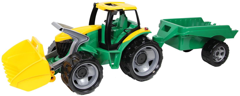 LENA - Traktor se lžící a přívěsem 02123