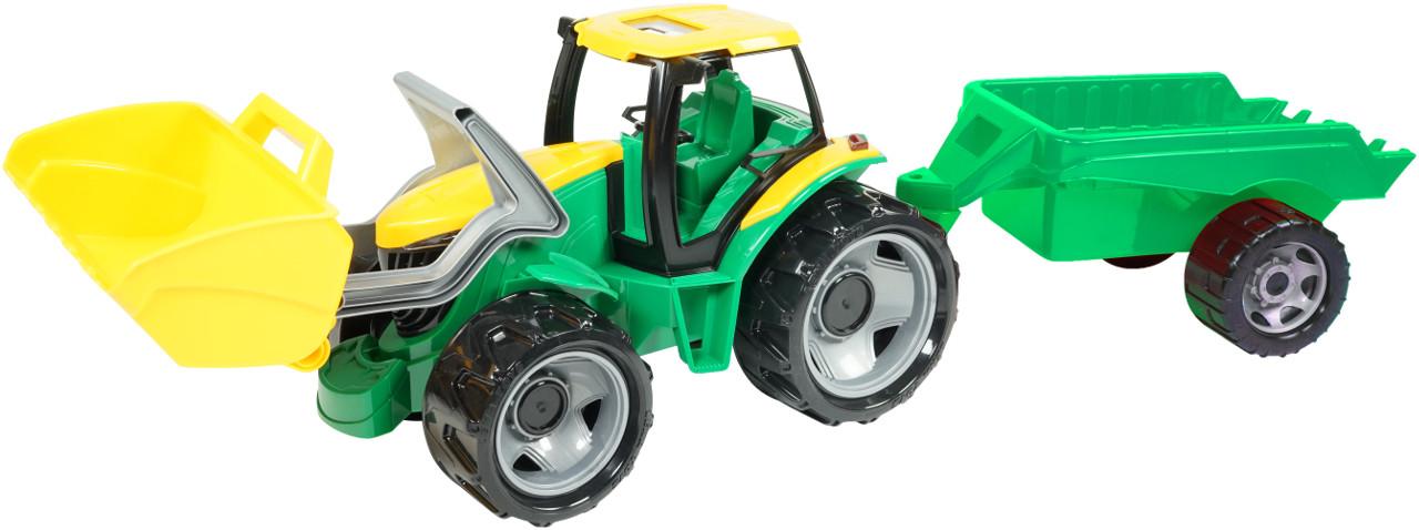 LENA - Traktor se lžící a přívěsem