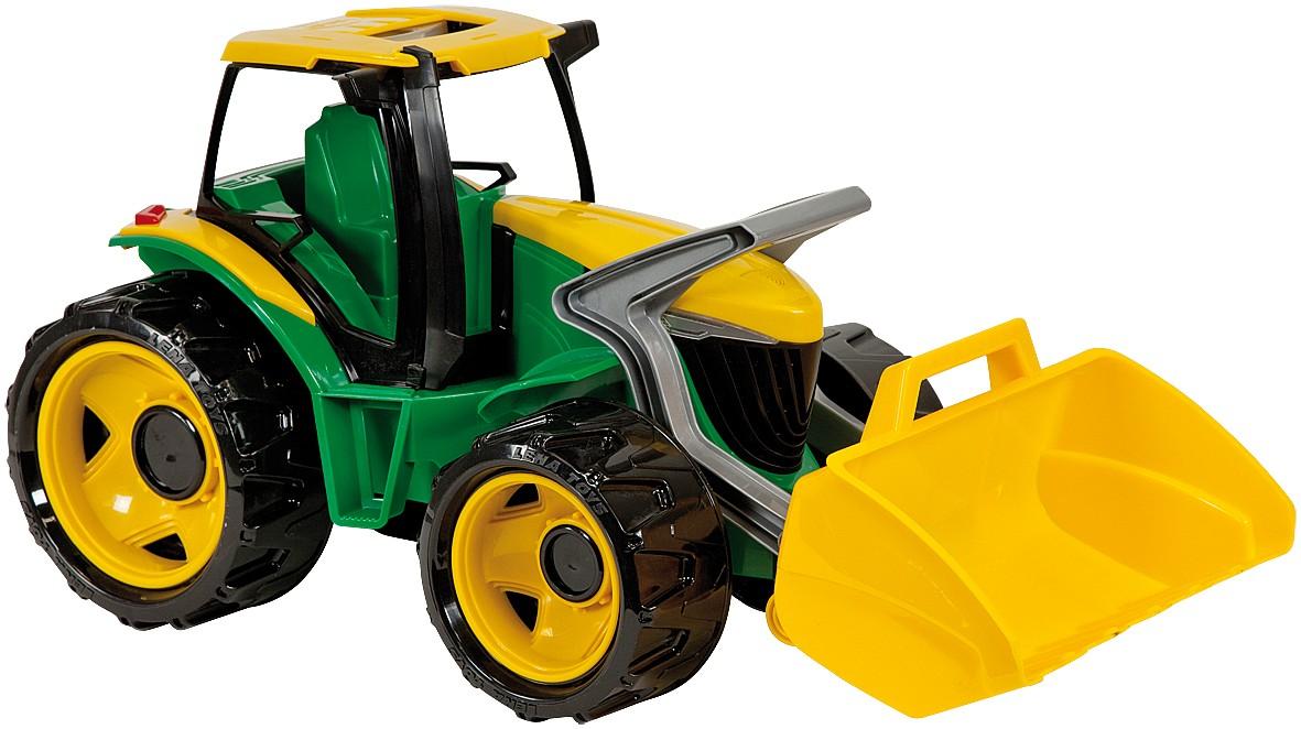 LENA - Traktor S Lžící, Zeleno Žlutý