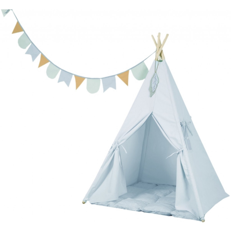 LITTLE DUTCH - teepee blue