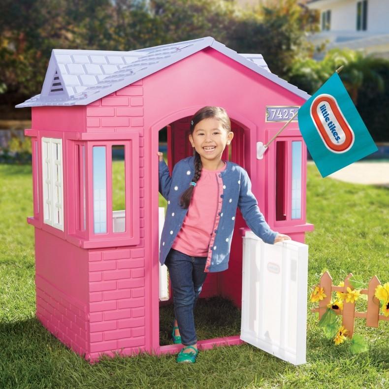 LITTLE TIKES - Little Tikes Domeček na hraní Princess Cottage růžový 485145