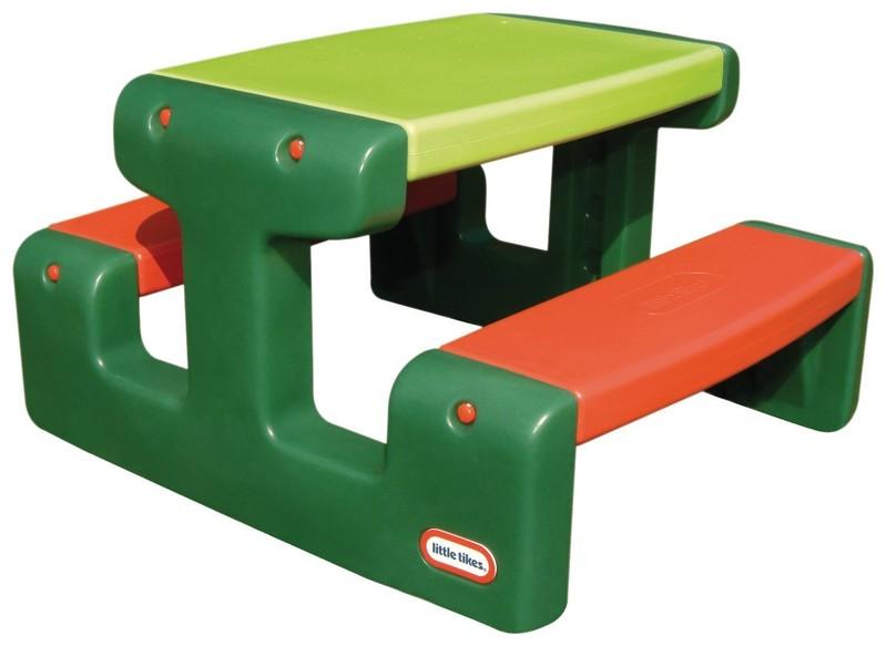 LITTLE TIKES - Piknikový stolek junior Evergreen 479A