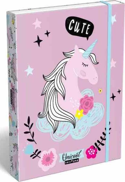 LIZZY CARD - Box na sešity A5 Lollipop Unicorn