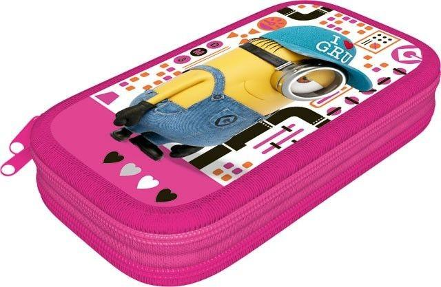 LIZZY CARD - Penál 2-patrový Minions