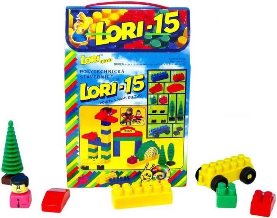 LORI TOYS - Stavebnice Lori 15 ZOO